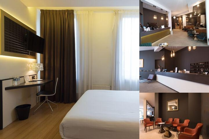 Hotel Saint Nicolas photo collage