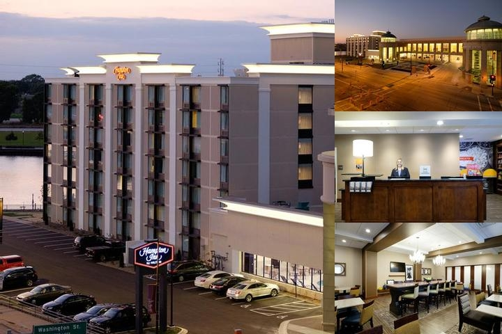 Hampton Inn Downtown Green Bay photo collage