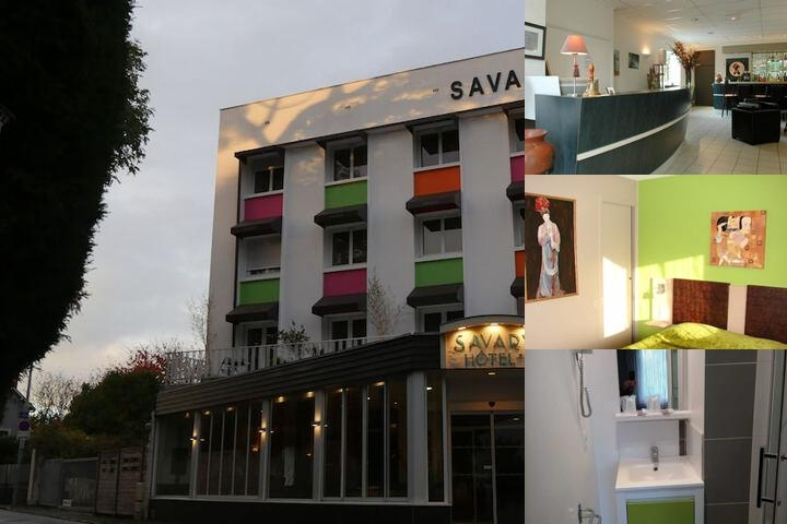 Savary Hotel photo collage