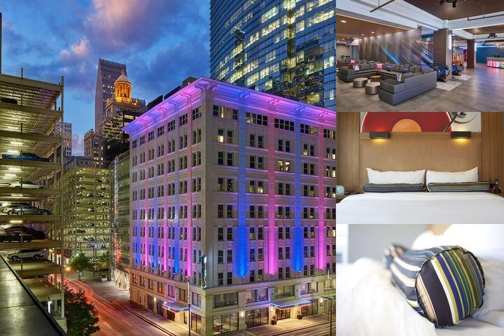 Aloft Houston Downtown photo collage