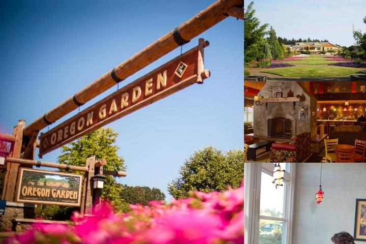Oregon Garden Resort photo collage