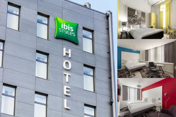 Ibis Styles Glasgow Centre George Square photo collage