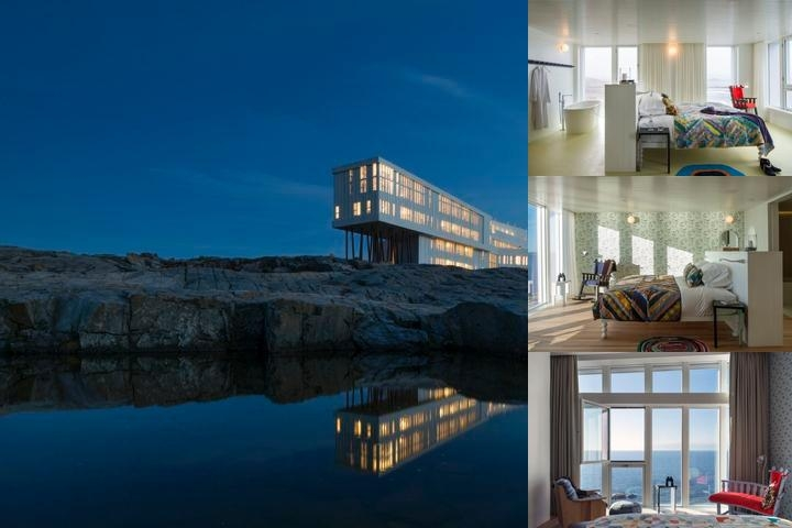 Fogo Island Inn photo collage