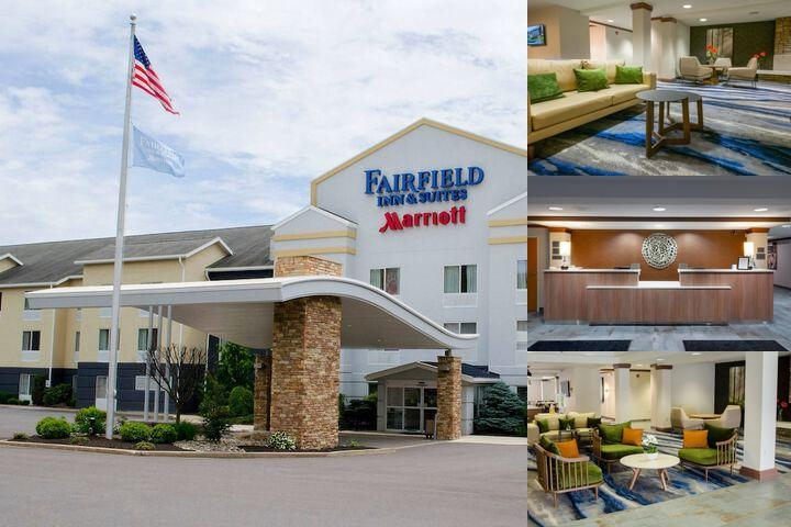 Fairfield Inn & Suites by Marriott Hazleton photo collage
