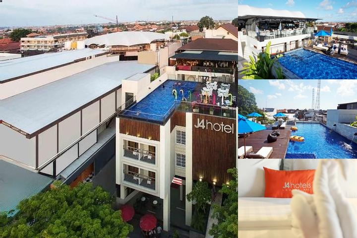 J4 Hotels Legian photo collage