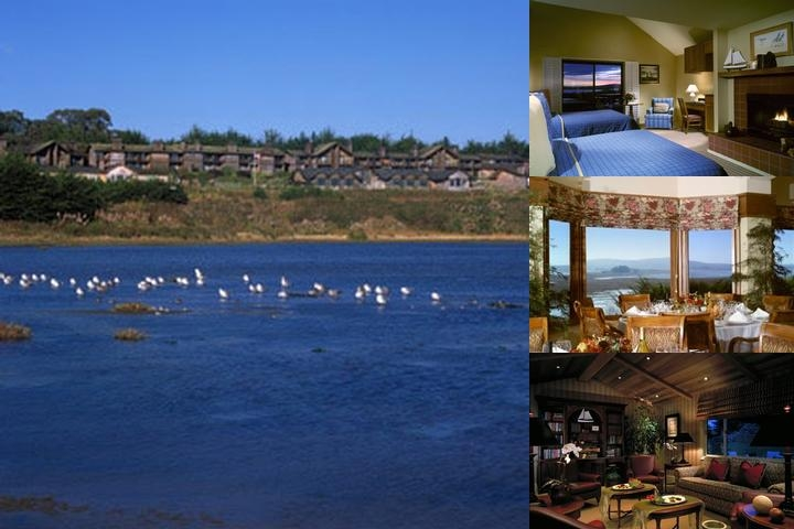 Bodega Bay Lodge photo collage
