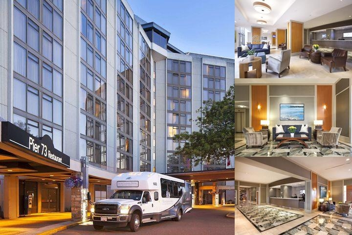 Pacific Gateway Hotel at Vancouver Airport photo collage