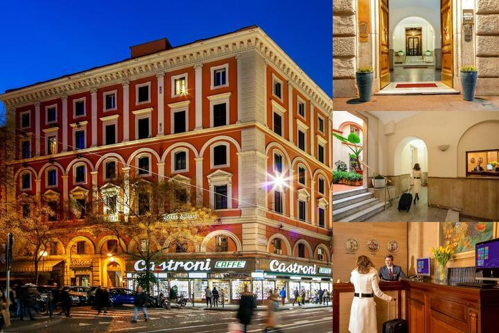Amalia Vaticano Hotel photo collage