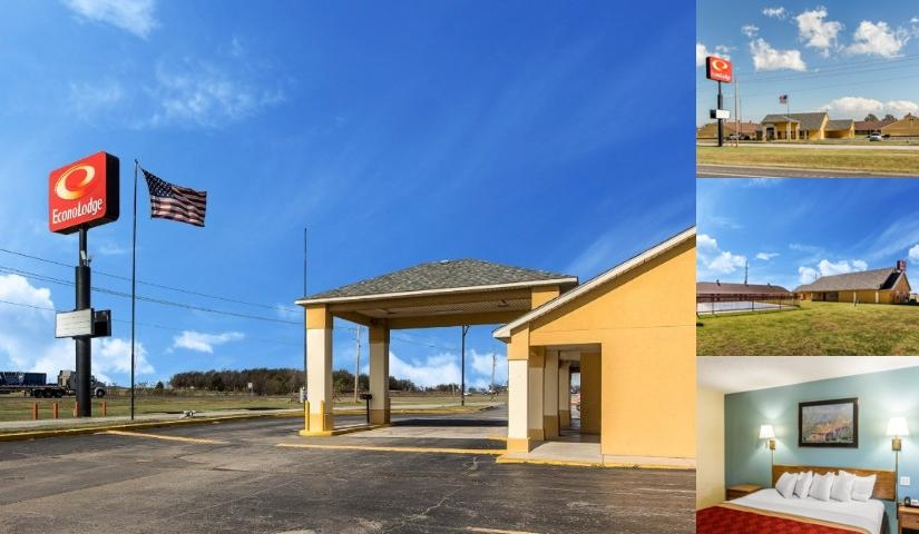 Econo Lodge Pryor photo collage