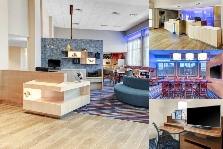 Fairfield Inn & Suites Cape Cod Hyannis photo collage