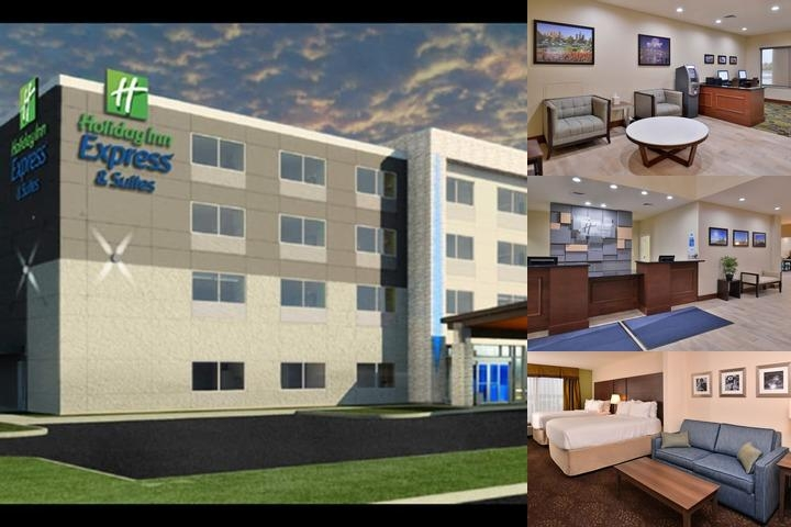 Holiday Inn Express & Suites Dearborn photo collage
