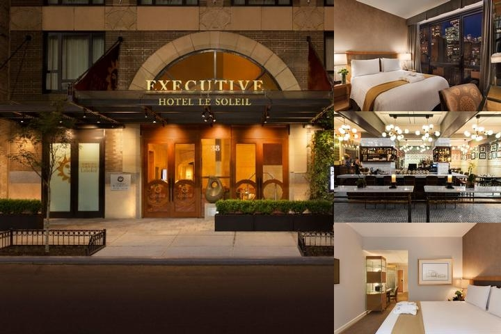 Hotel Le Soleil New York photo collage