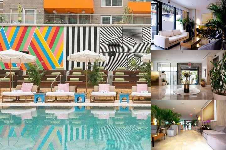 Mccarren Hotel & Pool photo collage