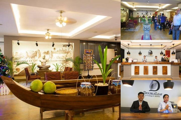 Double Leaf Boutique Hotel photo collage