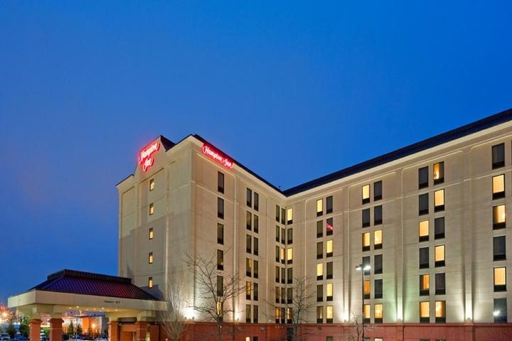 Hampton Inn Boston Logan Airport photo collage