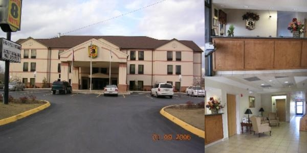 Super 8 Motel photo collage