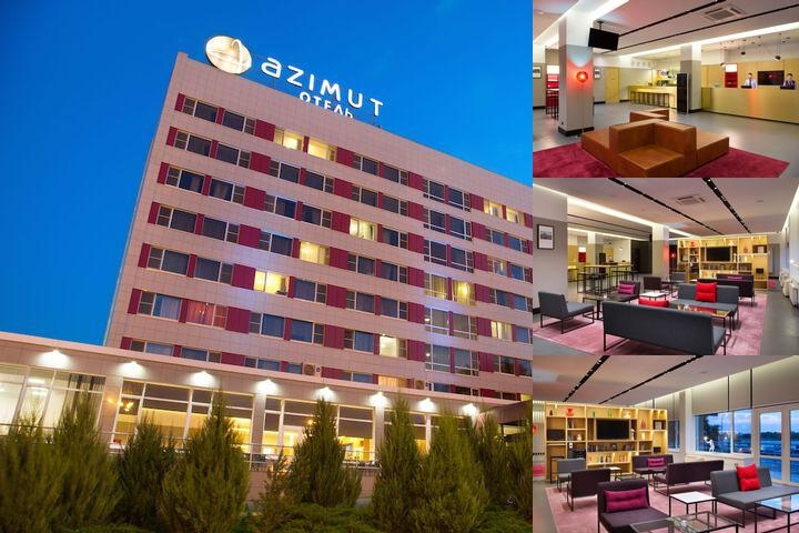 Azimut Hotel Astrakhan photo collage