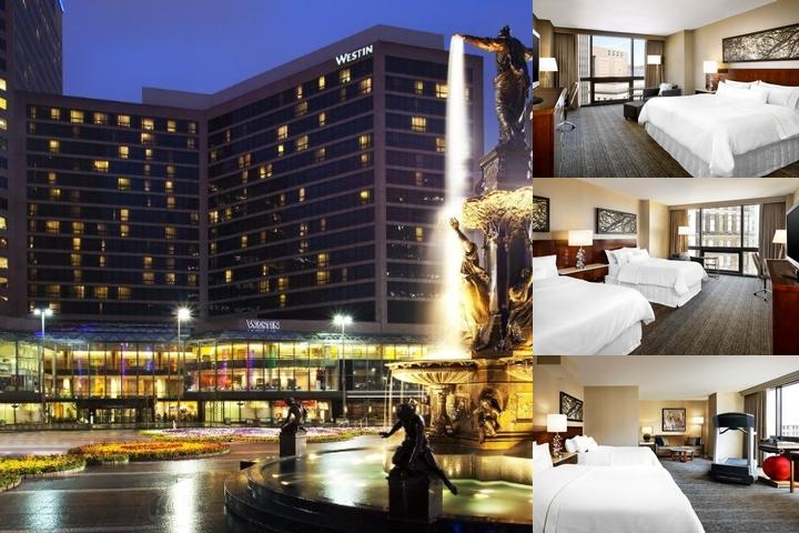 Westin Cincinnati photo collage