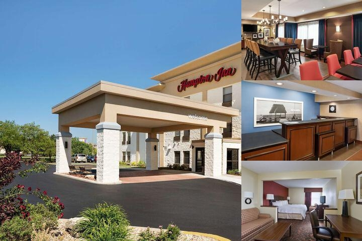Hampton Inn Tinley Park photo collage