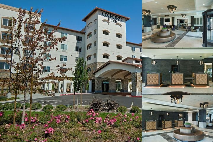 Oxford Suites Rohnert Park photo collage