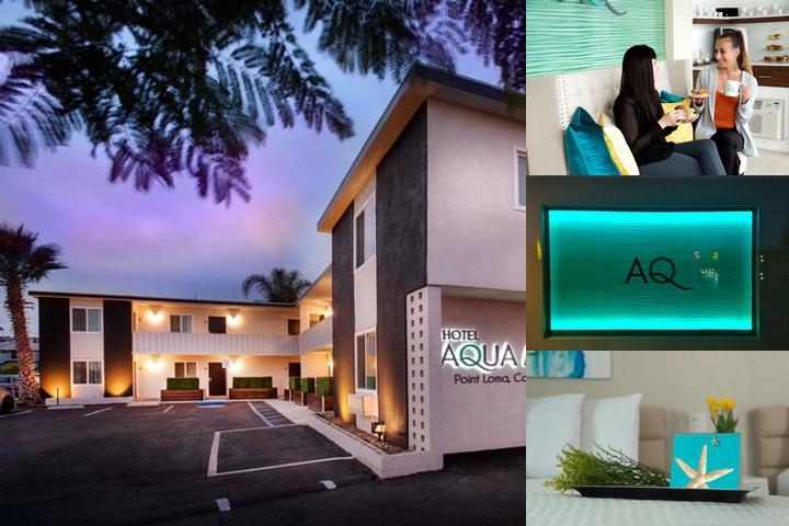 Hotel Aqua Mar photo collage