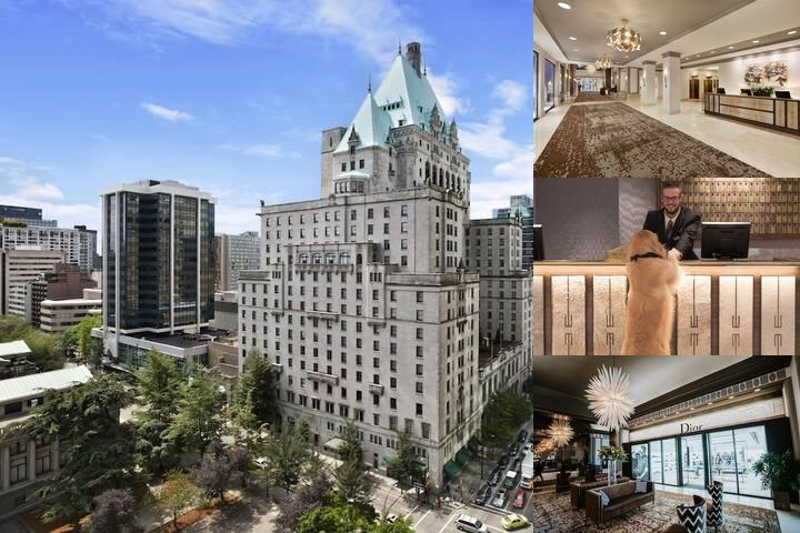 The Fairmont Hotel Vancouver Photo Collage