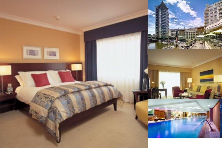 The Chelsea Harbour Hotel photo collage