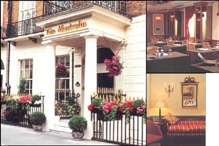 The Montcalm London photo collage