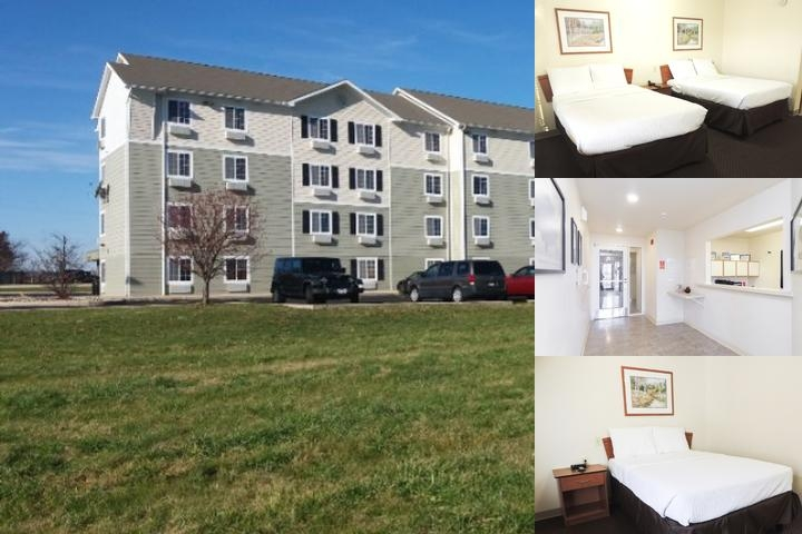 Woodspring Suites Champaign photo collage