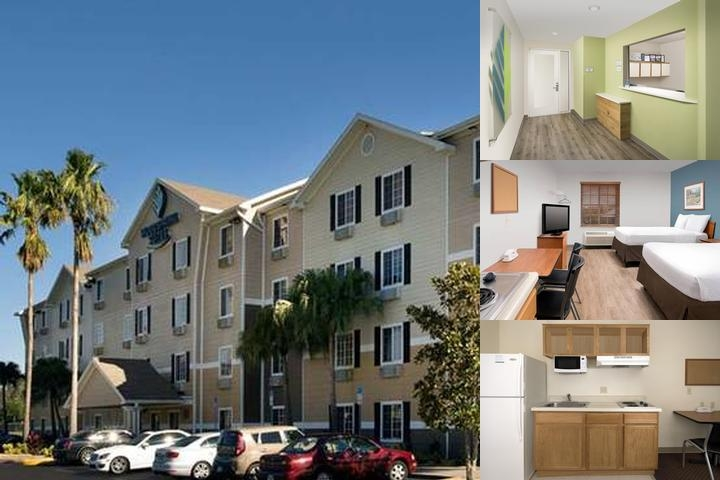 Woodspring Suites Orlando Clarcona photo collage