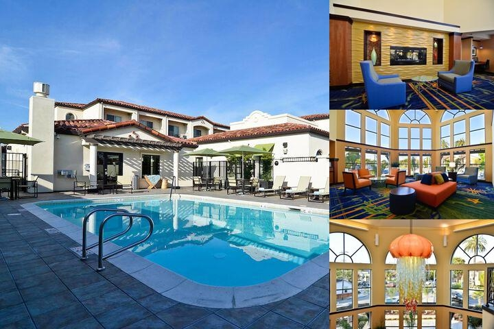 Fairfield Inn & Suites Santa Cruz Capitola photo collage