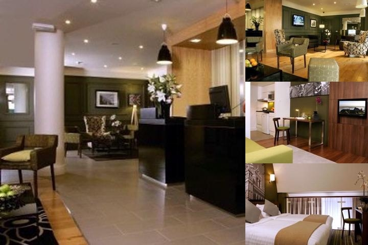 Citadines South Kensington photo collage
