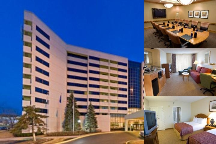 Hilton Chicago / Oak Brook Suites photo collage