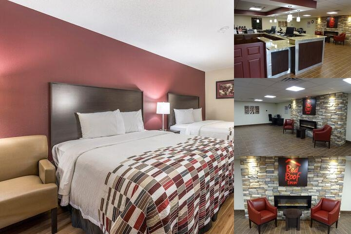 Red Roof Inn Indianapolis Castleton photo collage
