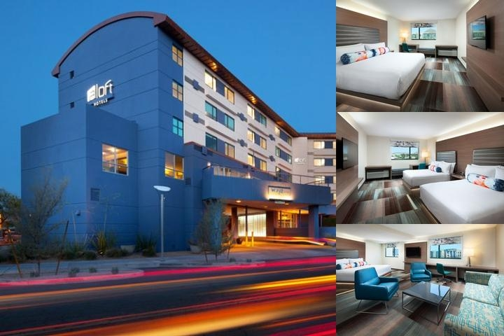 Aloft Scottsdale photo collage