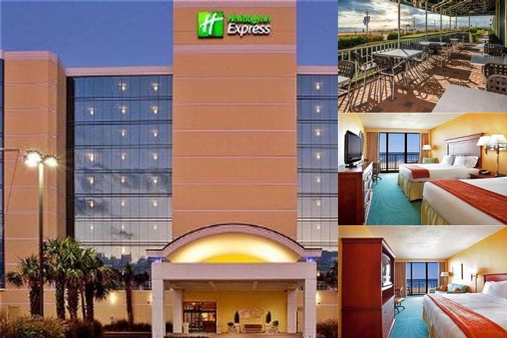 Holiday Inn Express Virginia Beach Oceanfront photo collage