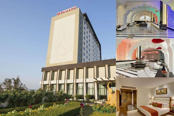 Ramada Plaza Agra photo collage
