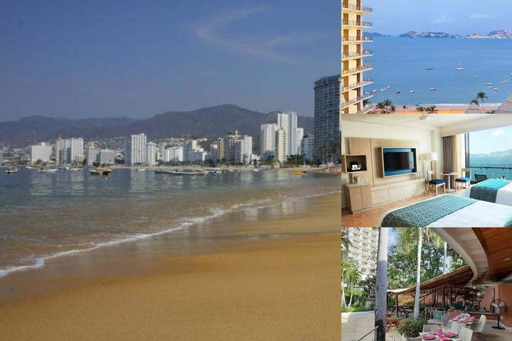 Grand Hotel Acapulco photo collage