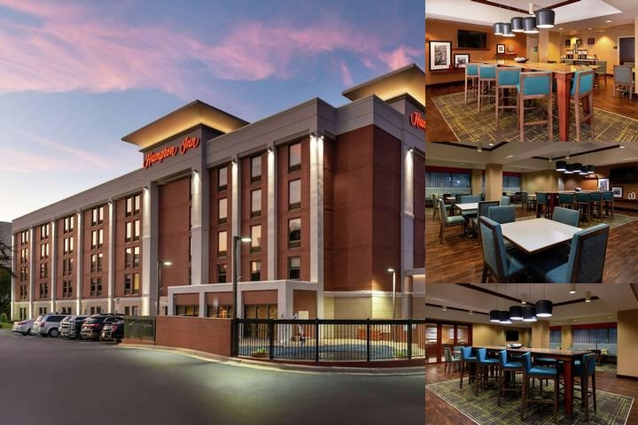 Hampton Inn Greensboro Airport photo collage