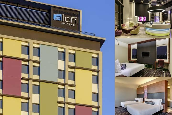 Aloft Asuncion photo collage