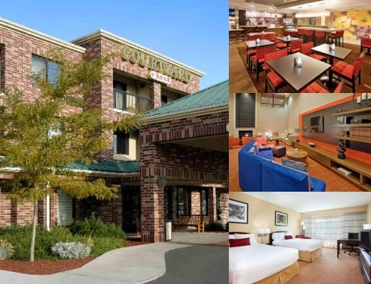 Courtyard by Marriott Salt Lake City Airport photo collage