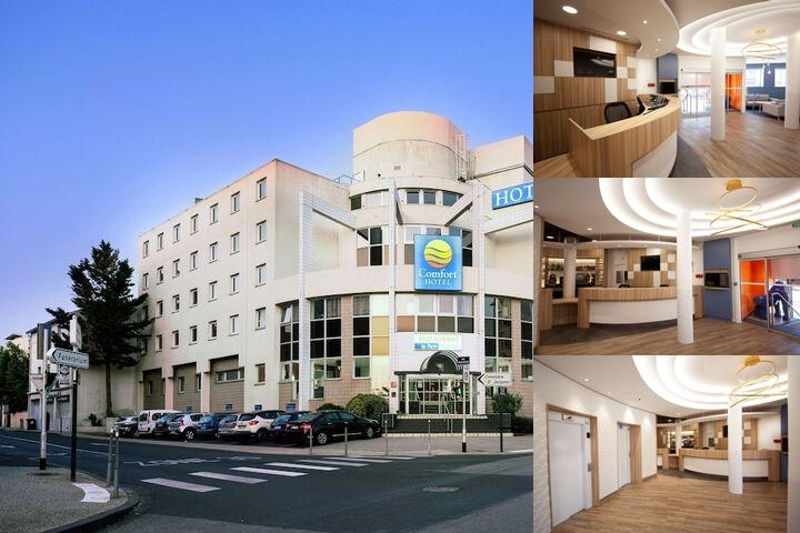 Comfort Hotel Clermont Saint Jacques photo collage