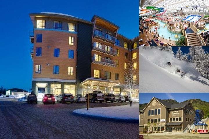 Jay Peak Resort Vermont photo collage