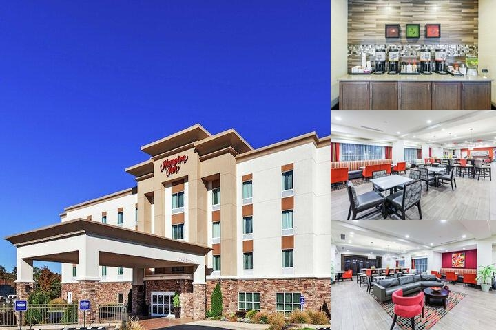 Hampton Inn North Little Rock Mccain Mall photo collage