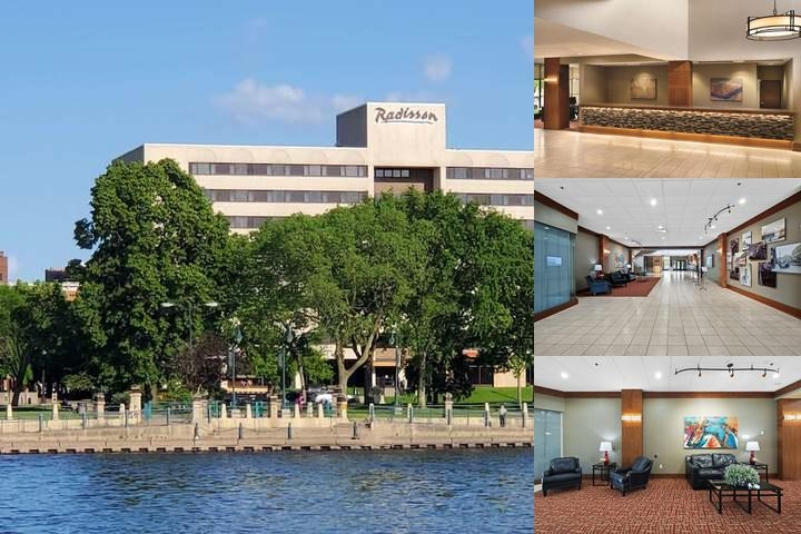 Radisson Hotel La Crosse photo collage