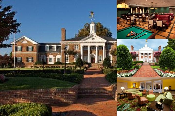 Virginia Crossings Hotel photo collage
