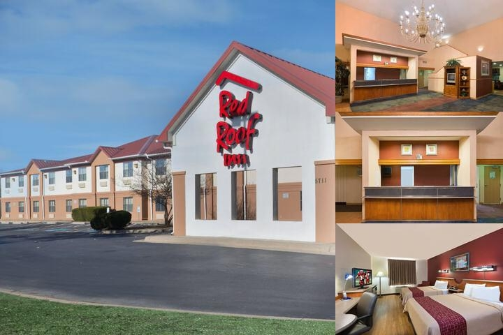 Red Roof Inn North Little Rock photo collage