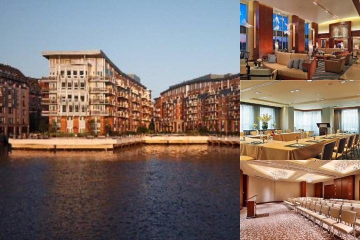 Battery Wharf Hotel Boston Waterfront photo collage