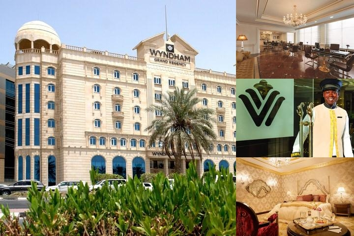 Wyndham Grand Regency Doha photo collage