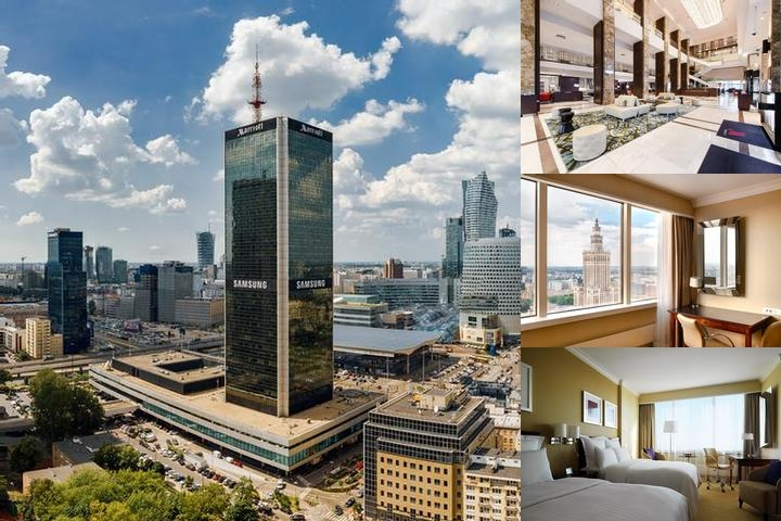 Warsaw Marriott Hotel photo collage